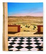 Desert Dreamscape Fleece Blanket