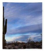 Desert Evening Fleece Blanket