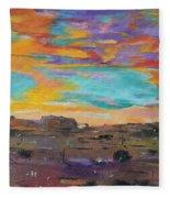 Desert Finale Fleece Blanket