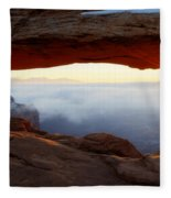 Desert Fog Fleece Blanket