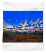 Desert Glory Fleece Blanket