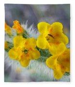 Desert In Bloom Fleece Blanket
