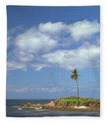 Desert Island Fleece Blanket
