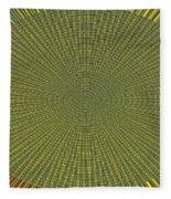 Desert Marigold Flowers Abstract #2 Fleece Blanket