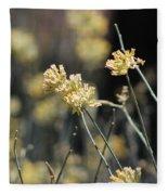 Desert Milkweed Fleece Blanket