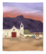 Desert Mission Fleece Blanket