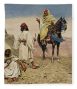 Desert Nomads Fleece Blanket