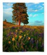 Desert Pines Meadow Fleece Blanket