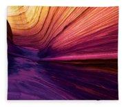 Desert Rainbow Fleece Blanket