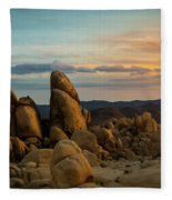 Desert Rocks Fleece Blanket
