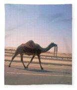 Desert Safari Fleece Blanket