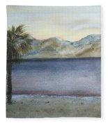 Desert Sea Fleece Blanket