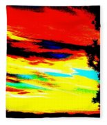 Desert Sky Fleece Blanket