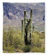Desert Strength Fleece Blanket