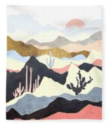 Desert Summer Fleece Blanket
