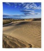 Desert Texture Fleece Blanket