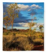 Desert Track Fleece Blanket