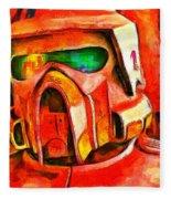 Desert Trooper - Pa Fleece Blanket