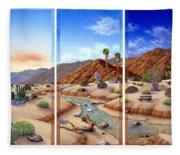 Desert Vista Fleece Blanket