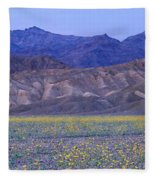 Desert Wildflowers, Death Valley Fleece Blanket