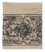 Design For A Binding For Charivaria, Carel Adolph Lion Cachet, 1874 - 1945 Fleece Blanket