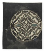 Design For A Brooch , Carel Adolph Lion Cachet, 1874 - 1945 Fleece Blanket