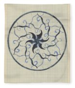 Design For A Plate, Carel Adolph Lion Cachet, 1874 - 1945 Fleece Blanket
