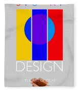 Design Poster Fleece Blanket