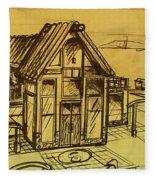 Design Sketch  Fleece Blanket