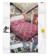 Designer Bed Sheet To Decor Home Fleece Blanket