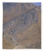 Desolate Highway Fleece Blanket