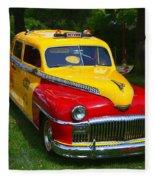 Desoto Skyview Taxi Fleece Blanket
