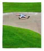 Desperate Golfer Fleece Blanket