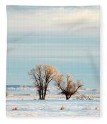 Desperate Trees Fleece Blanket
