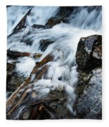 Detail Wild Stream Fleece Blanket