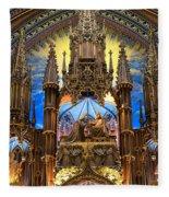 Details Notre Dame Montreal Fleece Blanket