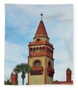 Details Of Flagler College Fleece Blanket