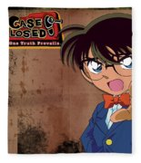 Detective Conan Fleece Blanket