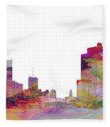 Detroit Colors Fleece Blanket