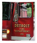 Detroit Fire Department Fleece Blanket