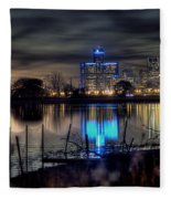 Detroit Reflections Fleece Blanket