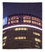 Detroit Renaissance Center Fleece Blanket