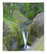 Devil Creek Falls   Fleece Blanket