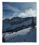 Devils Castle Morning Light Fleece Blanket