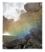 Devil's Rainbow Fleece Blanket
