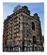 Divine Lorraine Hotel - Broad Street Philadelphia Fleece Blanket