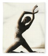 Devotion To Dance Fleece Blanket