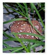 Dew It At The Creek Fleece Blanket