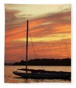 Dewey Bay Fleece Blanket