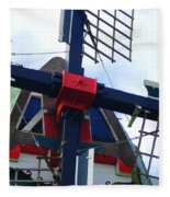 Dezwaan Windmill Holland Michigan Fleece Blanket